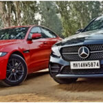 Jaguar XE and Mercedes C-Class