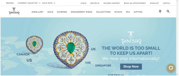 website tanishq.com