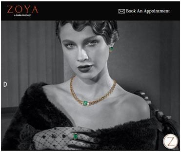 zoya jewellery collection