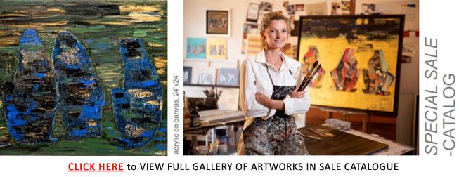 Artist Stephanie Arpels Sale