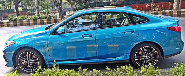 luxury sedan BMW