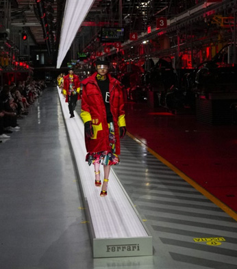 Italy – Ferrari Diversifying Into Fashion Apparel, Fine Dining, Accessories, Holds First Fashion Show