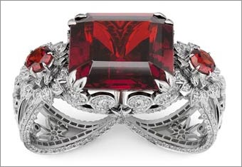 'Garden of Delights' High Jewelry by Gucci
