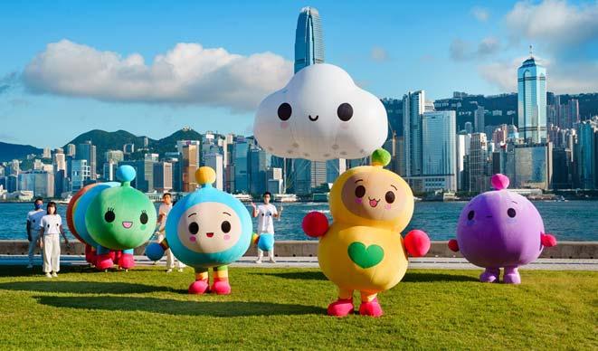 Hong Kong – Hong Kong Tourism Board collaborates with international pop-artist 'FreindsWithYou'