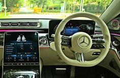 New Mercedes-Benz S-Class Power dressing