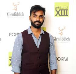 India / Scotland – Glenfiddich's 'Emerging Artist of the Year' 2019 winner- Raju Baraiya art showcase
