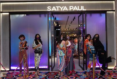 India – Satya Paul store in DLF Promenade gets new look