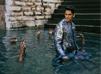 India – Designer Amit Aggarwal's new Menswear collection shot at Lolark Kund Varansi